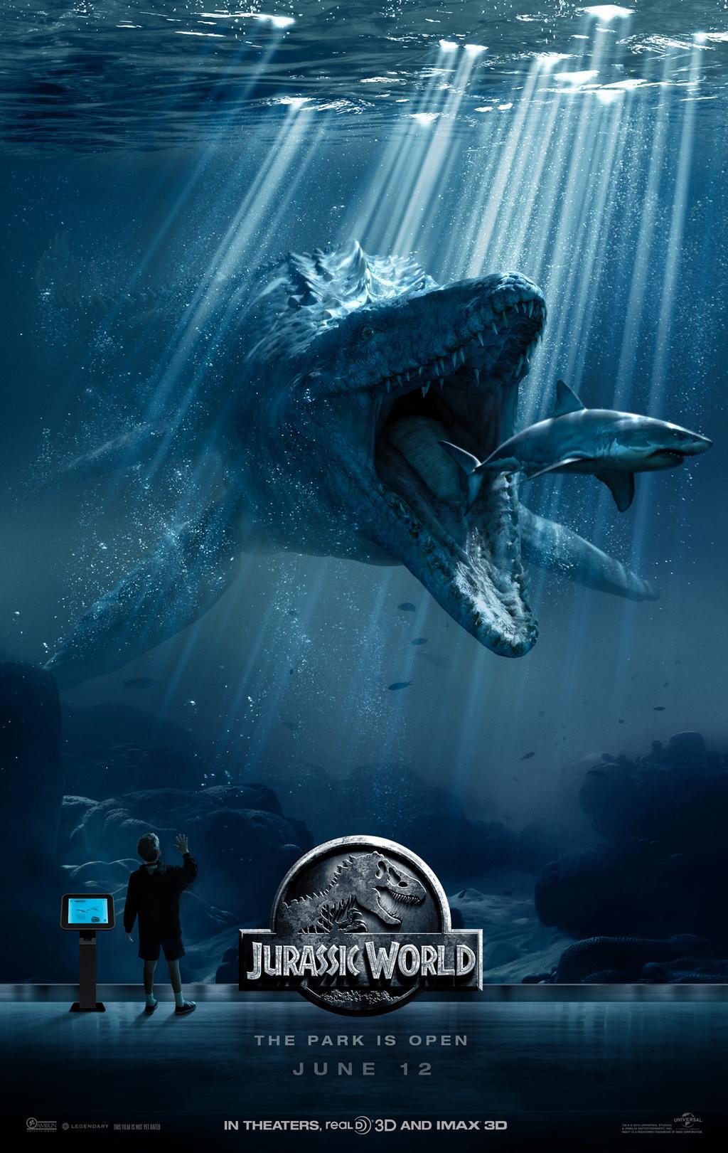 Jurassic World - Póster