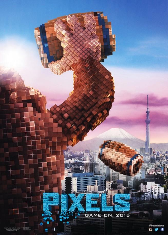 Pixels - Póster 3