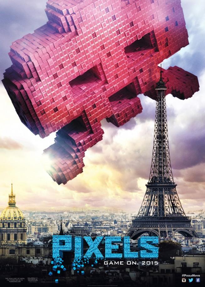 Pixels - Póster