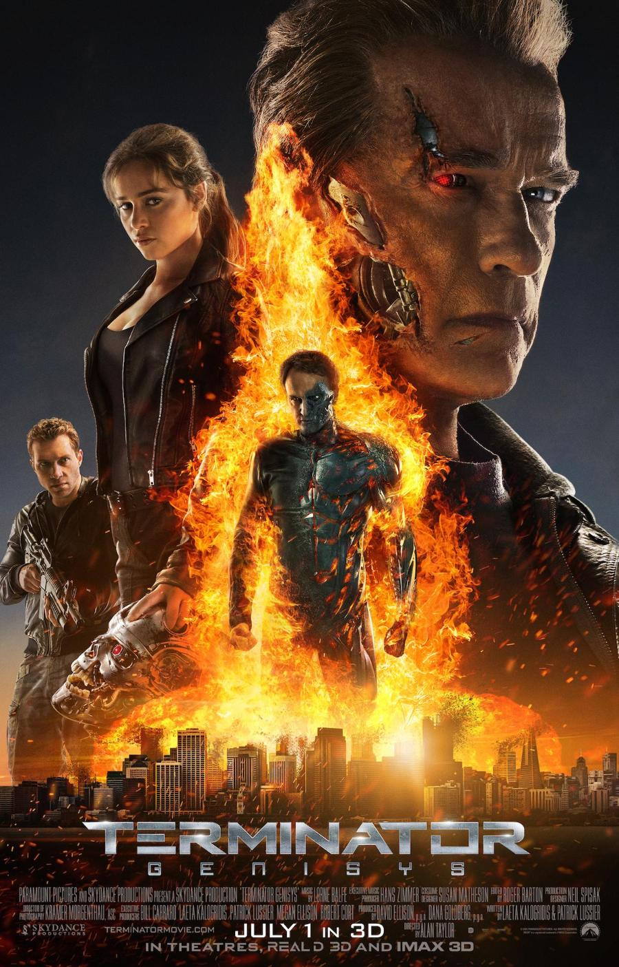 Terminator: Genisys - Póster