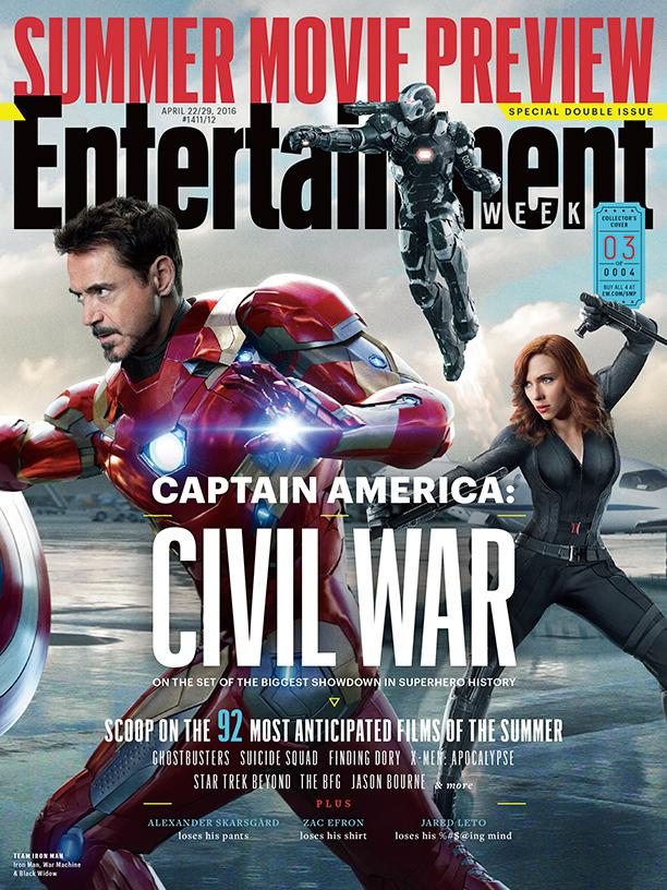 Captain America: Civil War - Cover 2