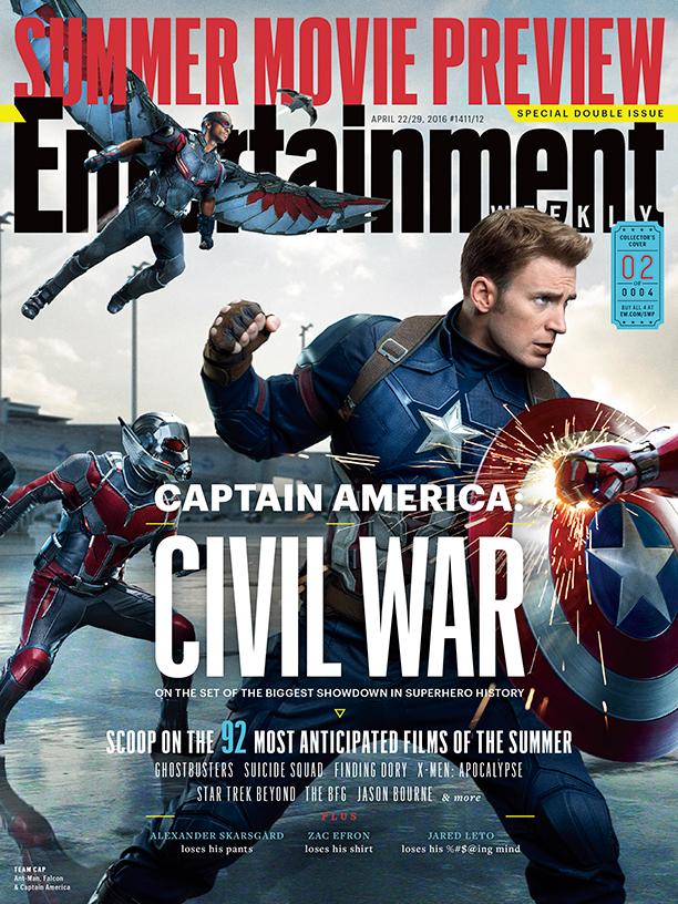 Captain America: Civil War - Cover 1