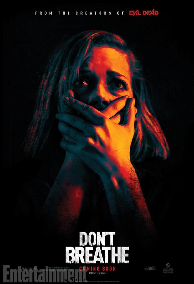 Don't Breathe - Póster